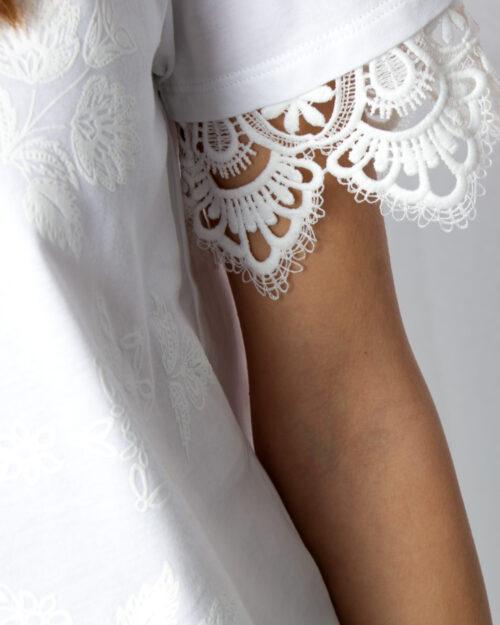 T-shirt Desigual Ts Gante Bianco - Foto 3