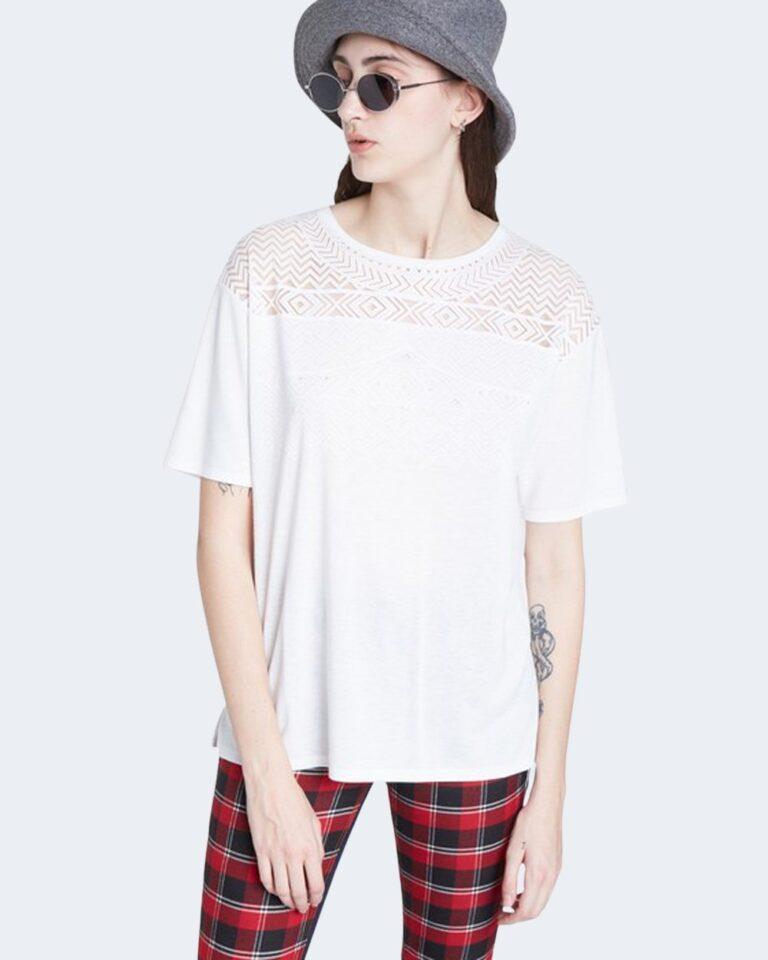 T-shirt Desigual TS NANTES Bianco - Foto 1