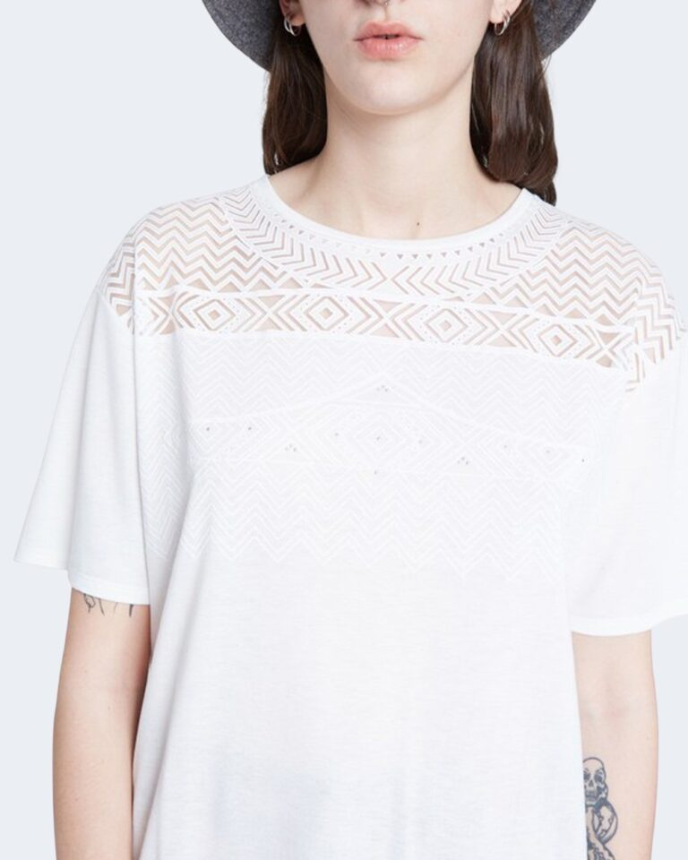 T-shirt Desigual TS NANTES Bianco - Foto 2
