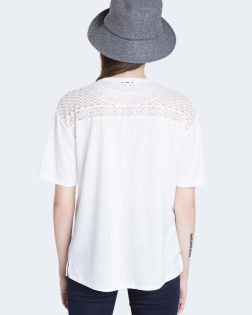 T-shirt Desigual TS NANTES Bianco - Foto 3