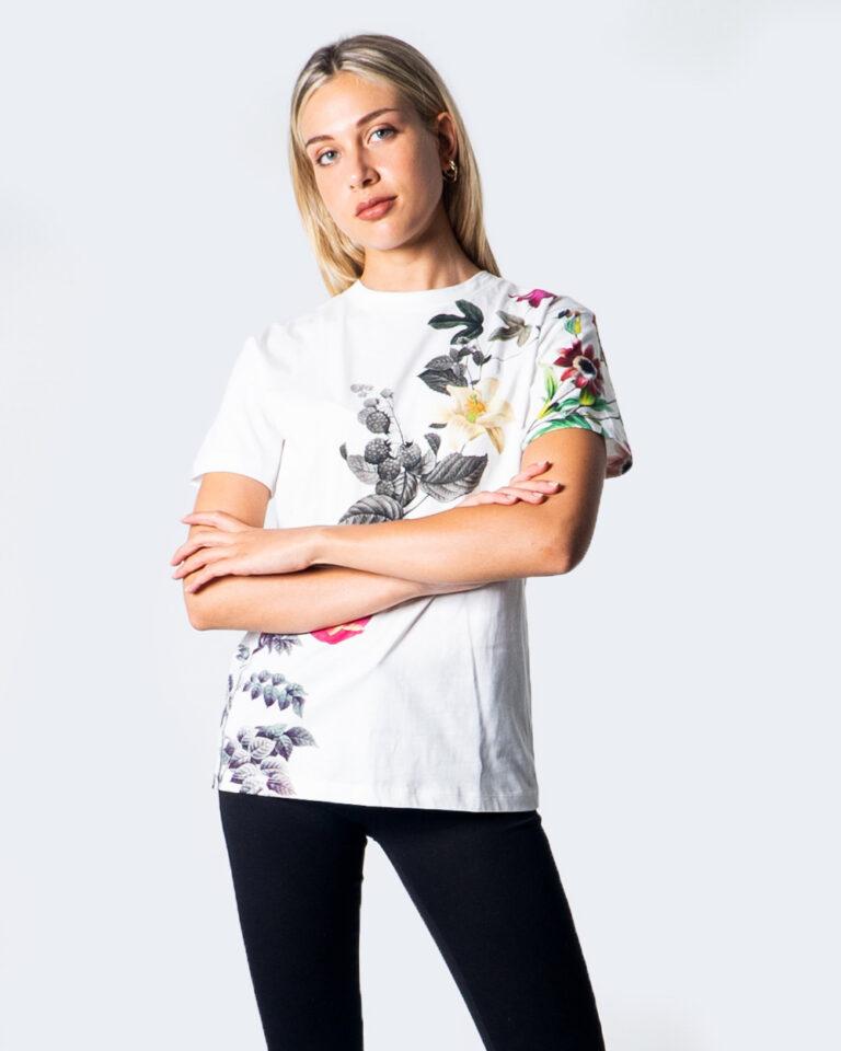 T-shirt Desigual TS YAIZA Bianco - Foto 1