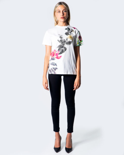 T-shirt Desigual TS YAIZA Bianco - Foto 2