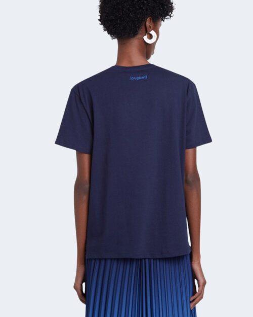 T-shirt Desigual TS MAINE Blu - Foto 3