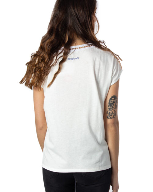 T-shirt Desigual Ts Viena Corallo – 39885