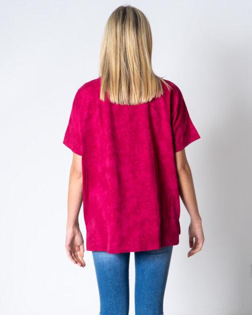T-shirt Desigual T-SHIRT OVERSIZE NEW GALA Fuxia - Foto 3