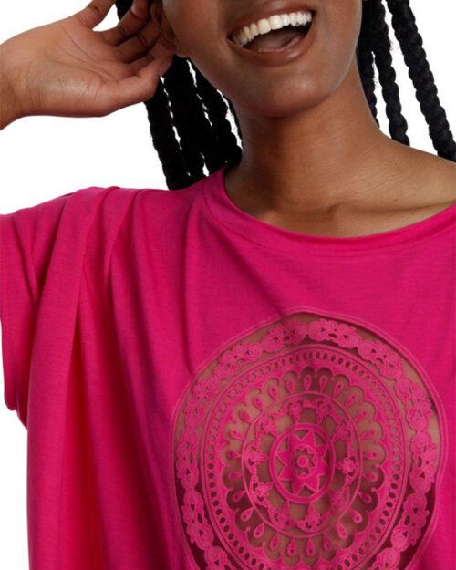 T-shirt Desigual TS Sola Fuxia – 40735