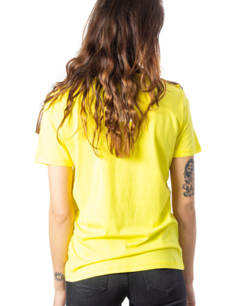 T-shirt Desigual Ts Tropic Thoughts Giallo – 39930