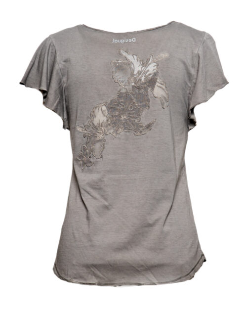 T-shirt Desigual Ts madrid Grigio – 44655
