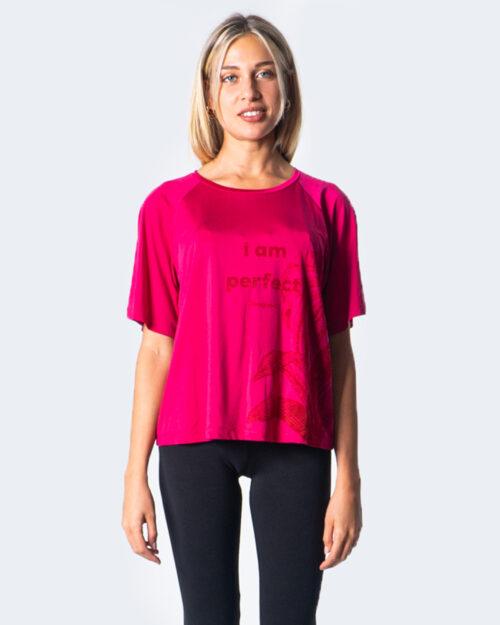T-shirt Desigual Cupro Jungle Magenta – 52879