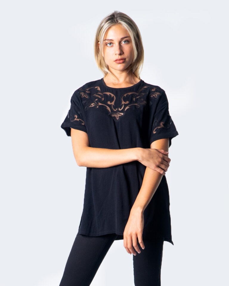 T-shirt Desigual BLUS LUAN Nero - Foto 1