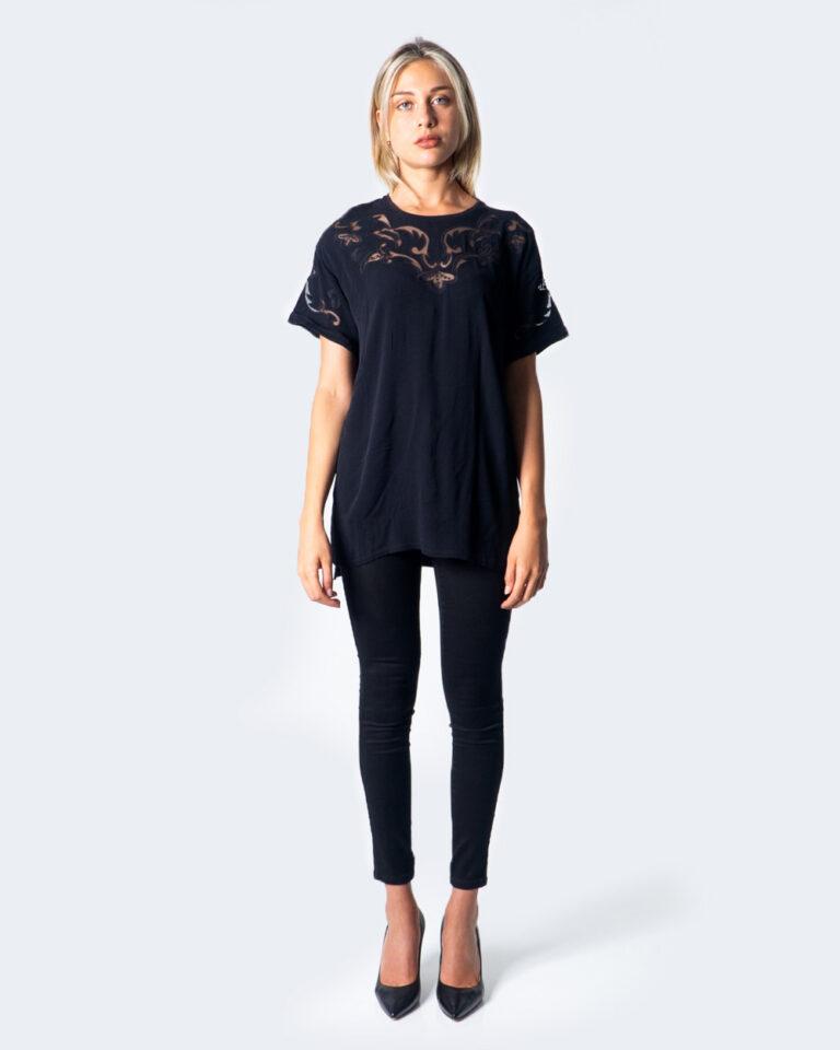 T-shirt Desigual BLUS LUAN Nero - Foto 2