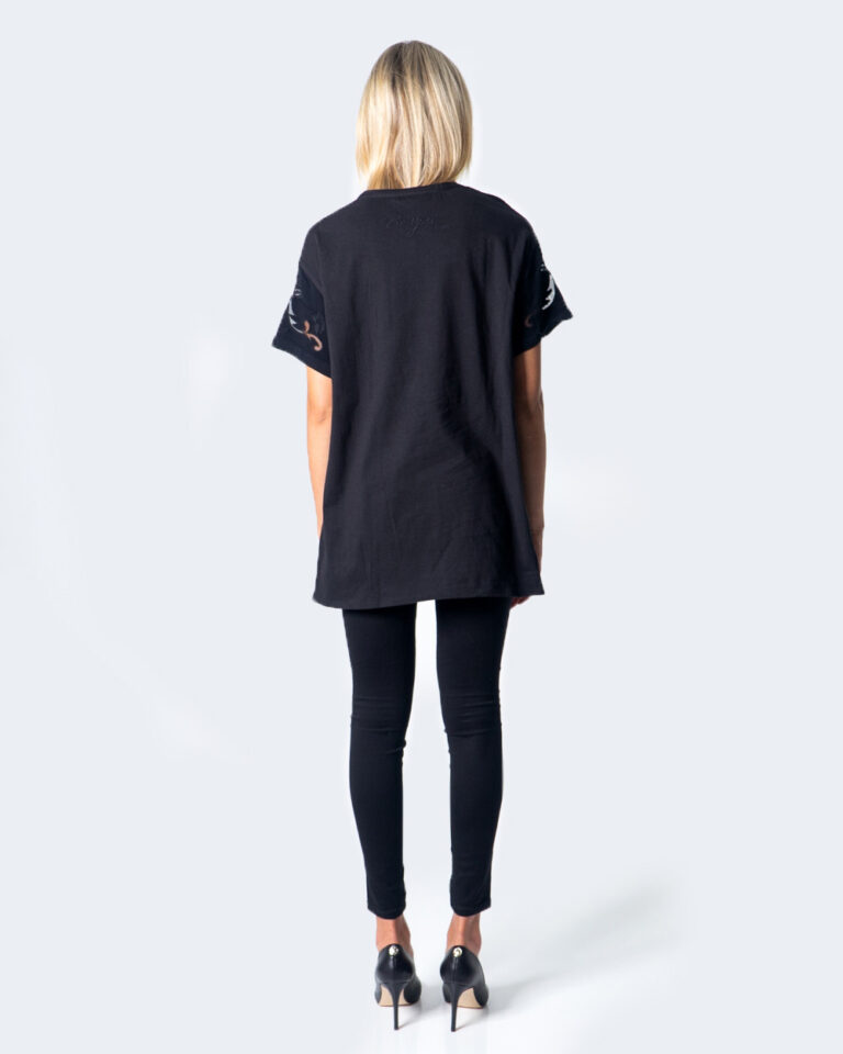 T-shirt Desigual BLUS LUAN Nero - Foto 3