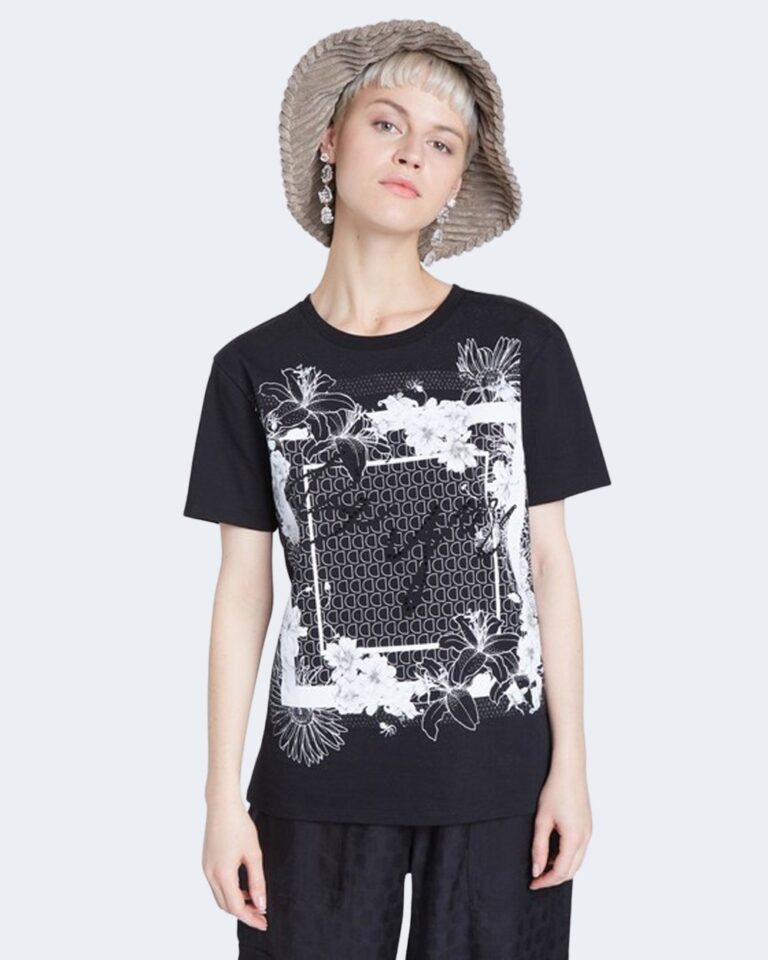 T-shirt Desigual Ts arizona Nero - Foto 1