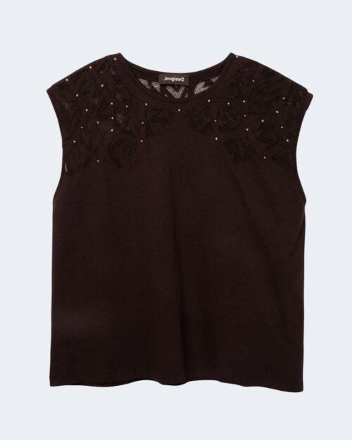 T-shirt Desigual TS LISBOA Nero - Foto 4