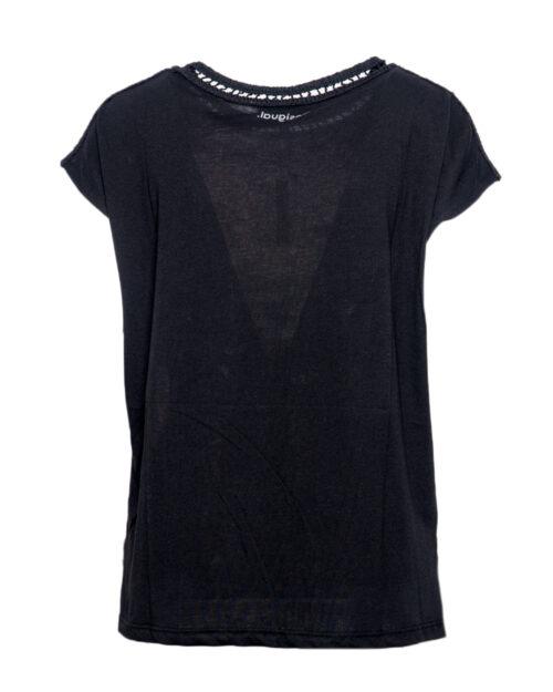 T-shirt Desigual Ts Viena Nero – 39885