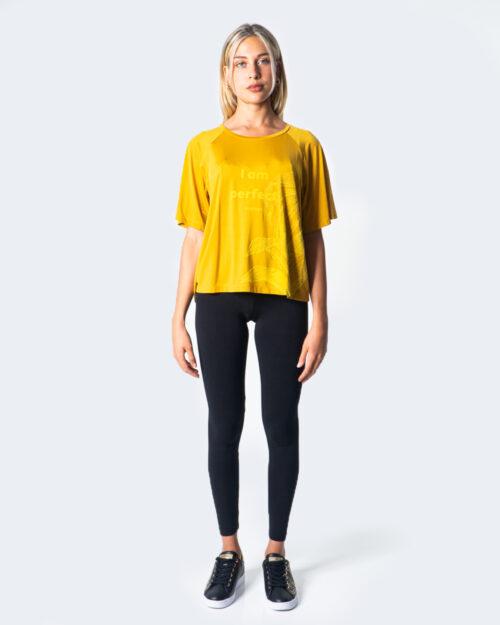 T-shirt Desigual Cupro Jungle Ocra – 52879