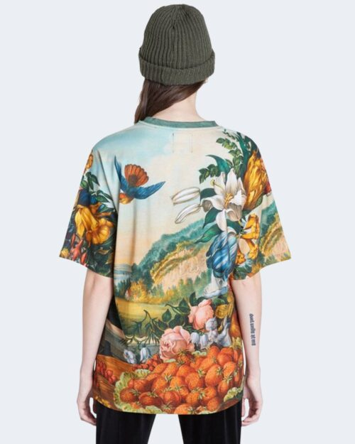 T-shirt Desigual TS SORAIA Verde - Foto 3