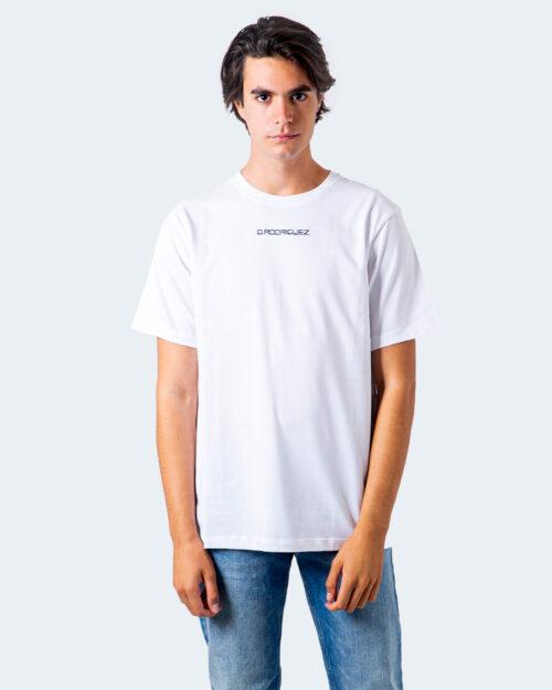 T-shirt Diego Rodriguez RICAMO LOGO Bianco – 58454