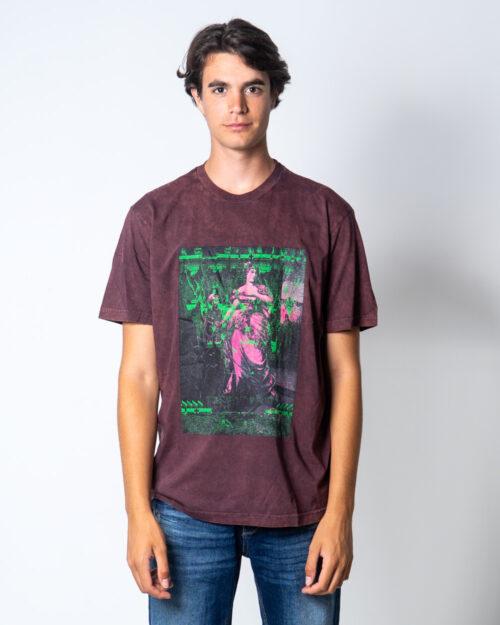 T-shirt Diesel JUST Bordeaux – 51652