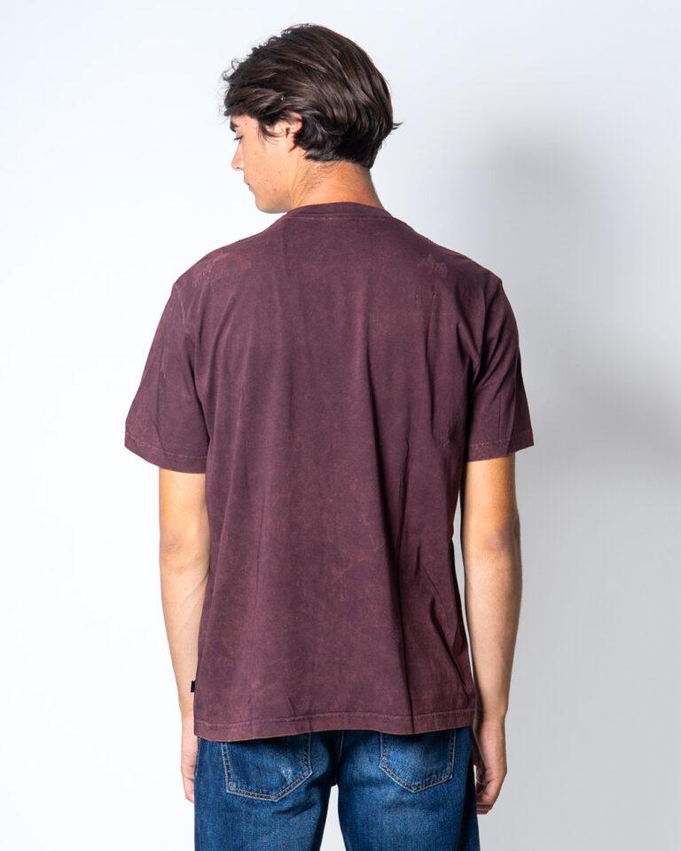 T-shirt Diesel JUST Bordeaux - Foto 3
