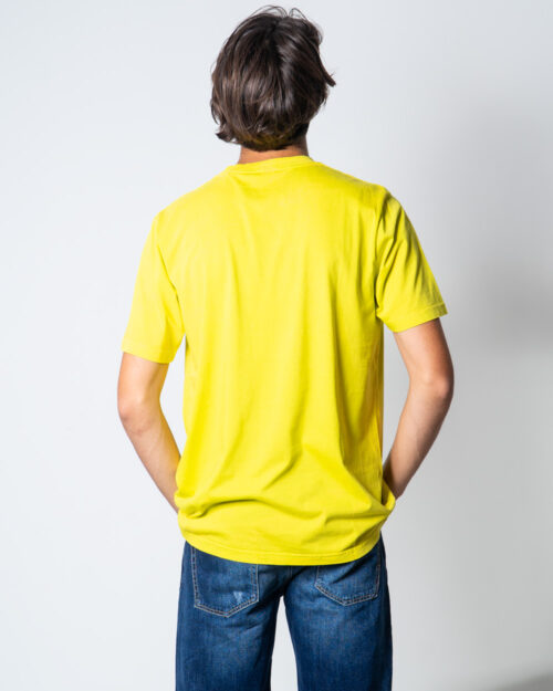 T-shirt Diesel JUST Giallo – 51650