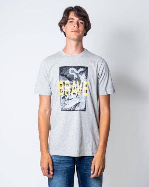 T-shirt Diesel JUST-XZ Grigio Chiaro – 51654