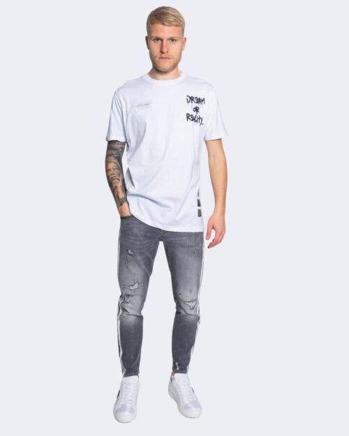 T-shirt Disclaimer  Bianco – 66351
