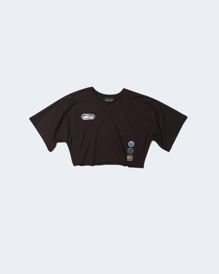 T-shirt Disclaimer LOGO RETRO GRAFFITI Nero - Foto 3