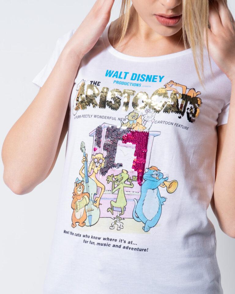 T-shirt Disney Aristogatti Bianco - Foto 2