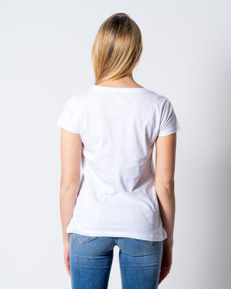 T-shirt Disney Minnie Paillettes Bianco - Foto 3