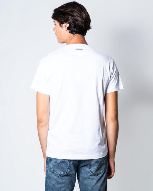 T-shirt Dsquared2 Bandiera Canada Bianco – 51034