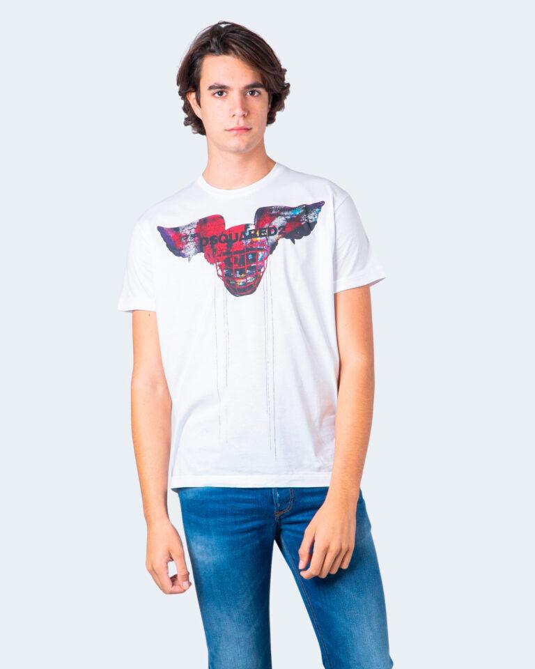 T-shirt Dsquared2 TESCHIO Bianco - Foto 1