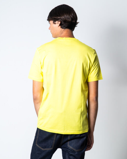 T-shirt Dsquared2 stampa 64 Giallo – 50939