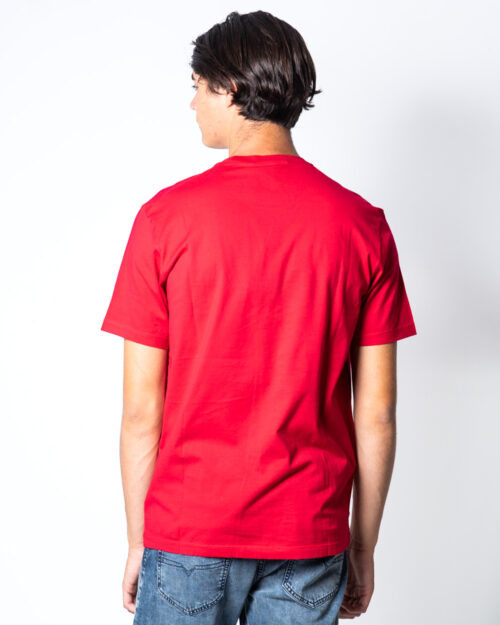 T-shirt Dsquared2 stampa 64 Rosso – 50939