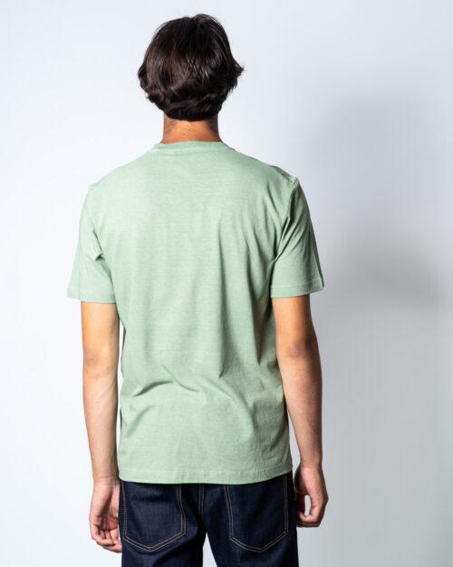 T-shirt Dsquared2 Stampa fiori Verde - Foto 2