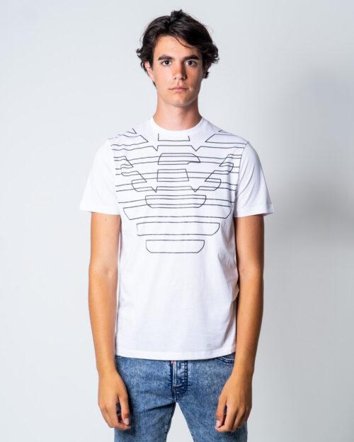 T-shirt Emporio Armani Logo stilizzato Bianco – 51530