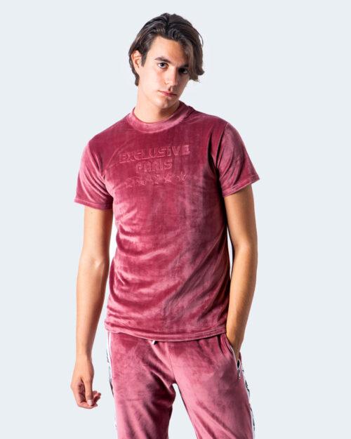 T-shirt Exclusive Paris LOGO FRONT CINIGLIA Bordeaux – 58483