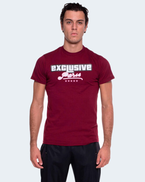 T-shirt Exclusive Paris LOGO PARIS Bordeaux – 58496