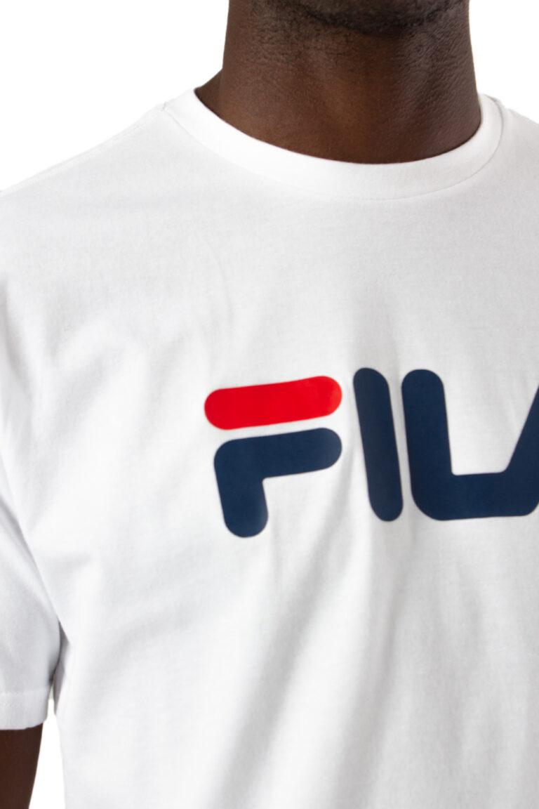 T-shirt Fila CLASSIC PURE TEE Bianco - Foto 4