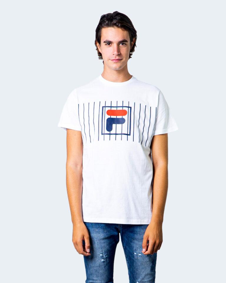 T-shirt Fila SAUTS TEE Bianco - Foto 1