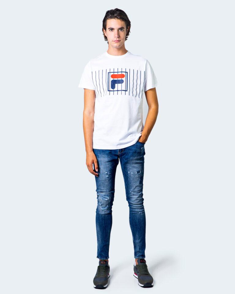 T-shirt Fila SAUTS TEE Bianco - Foto 2