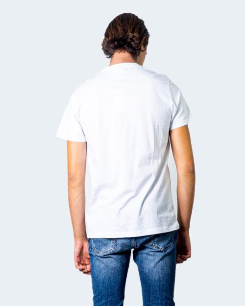 T-shirt Fila SAUTS TEE Bianco - Foto 3