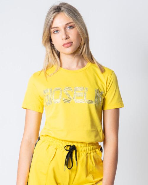 T-shirt Gioselin LOGO Giallo – 51859