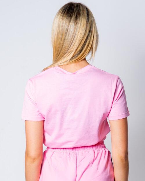 T-shirt Gioselin LOGO Rosa - Foto 2
