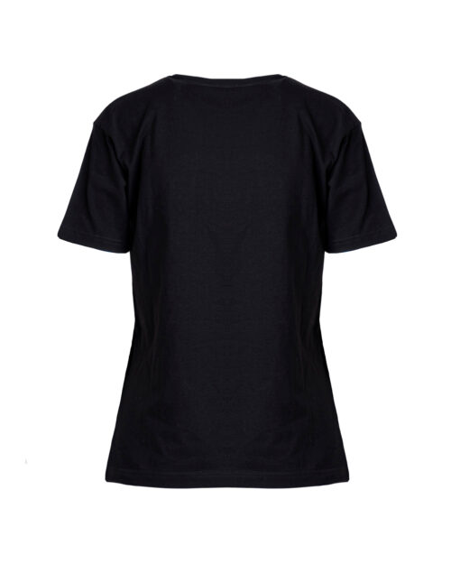 T-shirt GLSR LOGO MULTICOLOR Nero - Foto 4