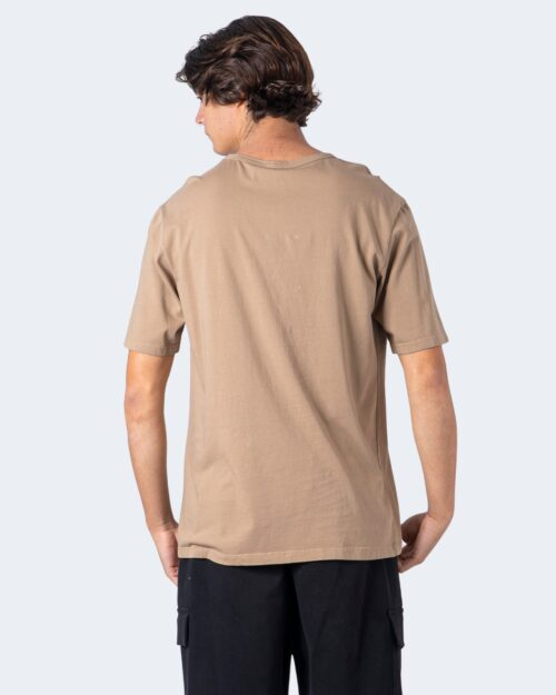 T-shirt Imperial CUCITURA FRONTALE Beige scuro – 54539