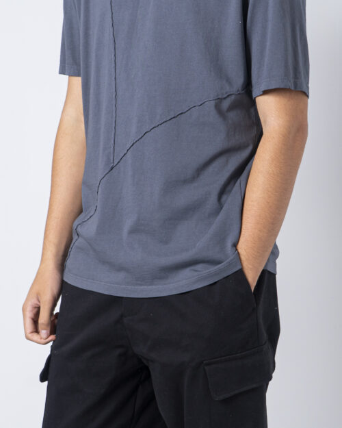 T-shirt Imperial CUCITURA FRONTALE Grigio - Foto 3