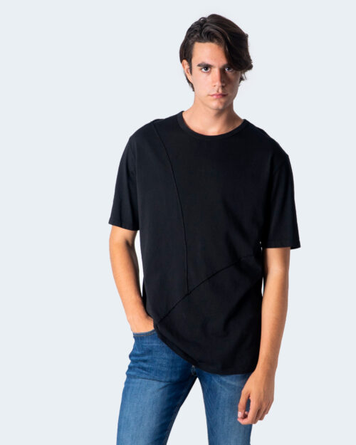 T-shirt Imperial CUCITURA FRONTALE Nero - Foto 1