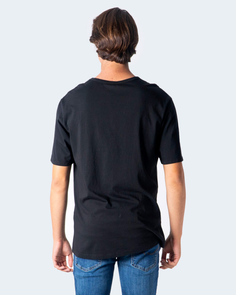 T-shirt Imperial CUCITURA FRONTALE Nero - Foto 3