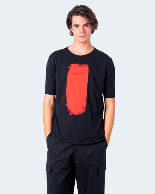 T-shirt Imperial PENNELLATA DI COLORE Nero – 59642